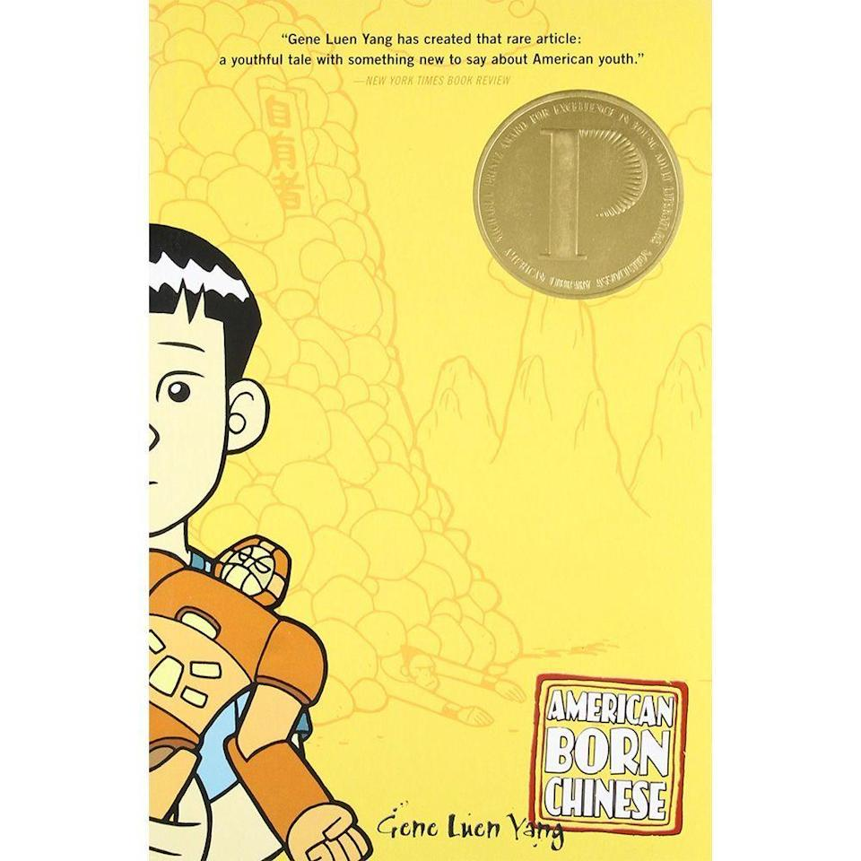 "<p><strong>Gene Luen Yang</strong></p><p>booksamillion.com</p><p><strong>$10.99</strong></p><p><a href=""https://go.redirectingat.com?id=74968X1596630&url=https%3A%2F%2Fwww.booksamillion.com%2Fproduct%2F9780312384487&sref=https%3A%2F%2Fwww.bestproducts.com%2Fparenting%2Fg32366322%2Fkids-books-for-asian-american-pacific-islander-heritage-month%2F"" rel=""nofollow noopener"" target=""_blank"" data-ylk=""slk:Shop Now"" class=""link rapid-noclick-resp"">Shop Now</a></p><p>A creative tale about three different characters that seemingly have nothing in common, <em>American Born Chinese</em> weaves together these narratives in a unique and satisfying way. Jin Wang is a Chinese American student in a town where no one else looks like him.</p><p>The powerful Monkey King is the main character in a well-known Chinese fable, and Jin Wang's cousin, Chin-Kee, is all of the negative stereotypes rolled up into a single person. What do these stories have to do with each other, and what happens when these stranger paths cross? </p><p>Your young reader will zoom through this graphic novel, consumed by every twist and turn, finally arriving at the surprise ending. </p>"