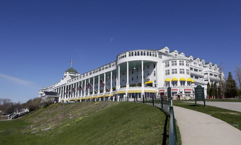 Mackinac Island Hotel Sale