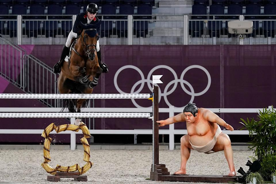 Tokyo Olympics Equestrian (Copyright 2021 The Associated Press. All rights reserved)