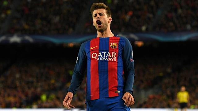 Gerard Pique has been receiving hospital treatment for abdominal pains, but has now been discharged, Barcelona have announced.