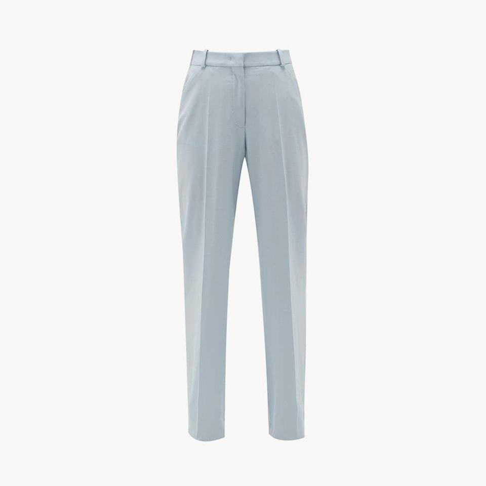 "$490, MATCHESFASHION.COM. <a href=""https://www.matchesfashion.com/us/products/Another-Tomorrow-High-rise-wool-flared-trousers-1351862"" rel=""nofollow noopener"" target=""_blank"" data-ylk=""slk:Get it now!"" class=""link rapid-noclick-resp"">Get it now!</a>"
