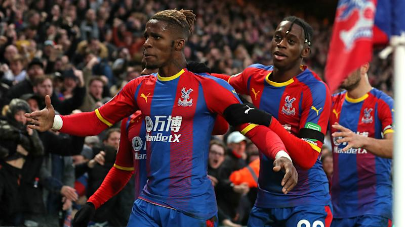 Hodgson says Palace anxious to keep Zaha and Wan-Bissaka