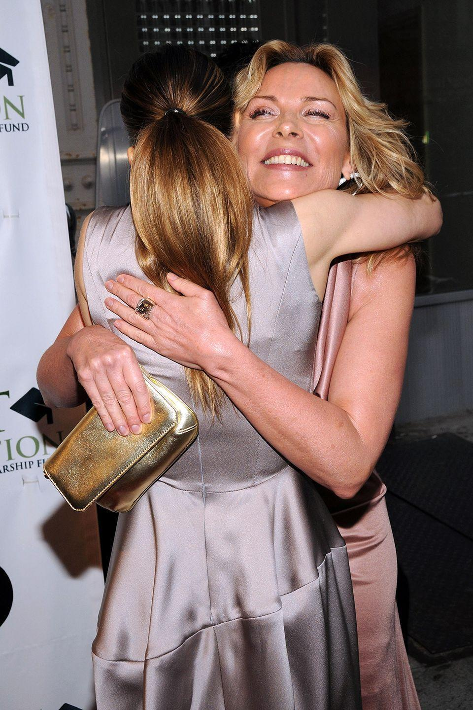 "<p>It's been rumored SJP and Kim Cattrall didn't get along on set, but Parker has confirmed the rumors are completely false. ""It used to really confound me and really upset me, because we were part of a family [with fellow HBO hit] <em>The Sopranos</em>, and nobody ever questioned the relationships of the men on that show, and nobody ever said to them, 'Did you hang out this weekend with each other?' or, 'Did you give each other Christmas presents?'"" Parker tells <a href=""http://www.etonline.com/news/200784_sarah_jessica_parker_talks_kim_cattrall_sex_and_the_city_feud_rumors"" rel=""nofollow noopener"" target=""_blank"" data-ylk=""slk:Entertainment Tonight"" class=""link rapid-noclick-resp"">Entertainment Tonight</a>. ""...It really upset me for a very long time.""</p>"