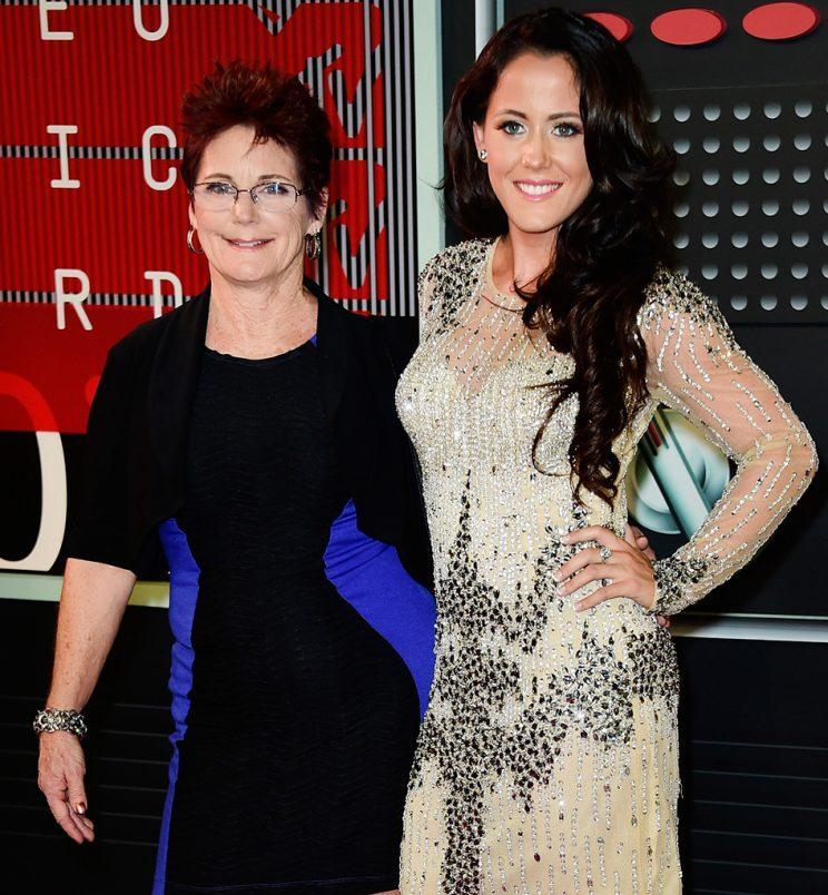 Jenelle Evans, left, and her mother, Barbara Evans, have been battling over custody of Jenelle's 7-year-old son. (Photo: Frazer Harrison/Getty Images)