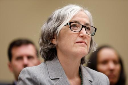 Anne Schuchat, principal deputy secretary of the Centers for Disease Control and Prevention, testifies before a House Oversight and Reform's Economic and Consumer Policy Subcommittee hearing in Washington