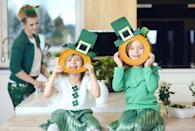 """<p>Wearing green is a must on St. Paddy's Day, obviously, but why not take it to the next level? Break out those leprechaun hats and make it a friendly contest to see who has the most festive outfit.<br></p><p><strong>RELATED: </strong><a href=""""https://www.goodhousekeeping.com/holidays/g4972/st-patricks-day-leggings/"""" rel=""""nofollow noopener"""" target=""""_blank"""" data-ylk=""""slk:St. Patrick's Day Leggings You'll Feel Lucky to Wear"""" class=""""link rapid-noclick-resp"""">St. Patrick's Day Leggings You'll Feel Lucky to Wear</a></p>"""