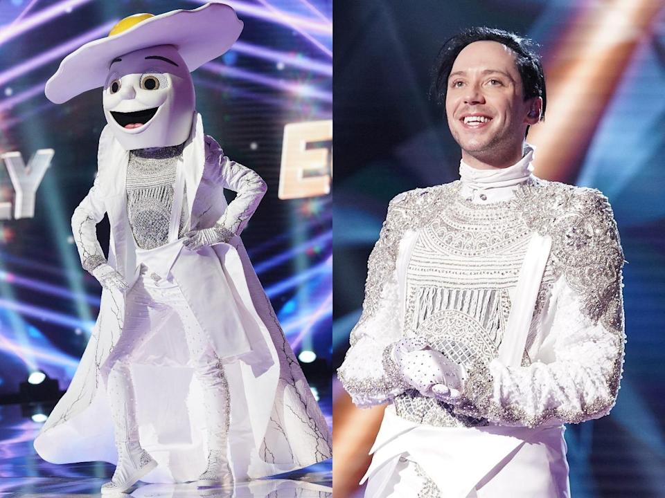 johnny weir the egg