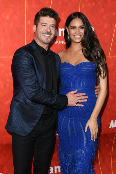Robin Thicke Is Engaged to April Love Geary