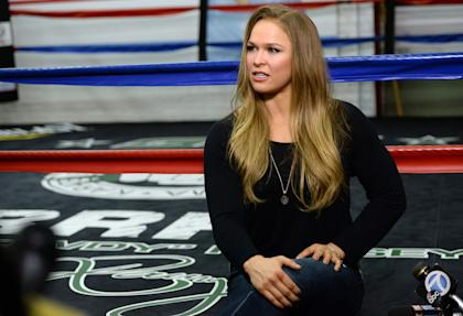 Ronda Rousey last week met with several New York politicians on MMA legalization in the state. (USAT)