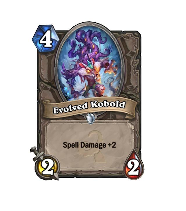 <p>Is one more mana worth it for a Kobold Geomancer with one more Spell Power? We're not entirely sure. </p>