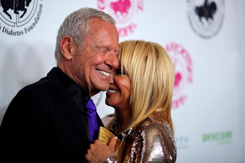Suzanne Somers arrives with husband Alan Hamel to the Carousel of Hope Ball in Beverly Hills, California U.S. October 8, 2016. Picture taken October 8, 2016. REUTERS/David McNewSuzanne Somers says she and husband Alan Hamel (pictured in 2016) make their sex life a priority. (Photo: REUTERS/David McNew)
