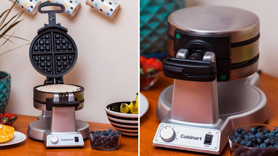 We loved this waffle iron for delivering fluffy, delicious waffles during testing.