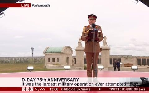 Chief of the Defence Staff, General Sir Nicholas Carter - Credit: BBC