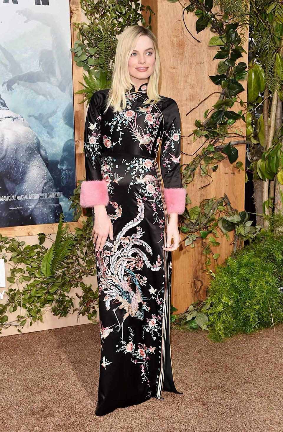 <h2>In Gucci</h2> <p>At the<em> Legend of Tarzan</em> premiere in Los Angeles, 2016</p> <h4>Getty Images</h4>