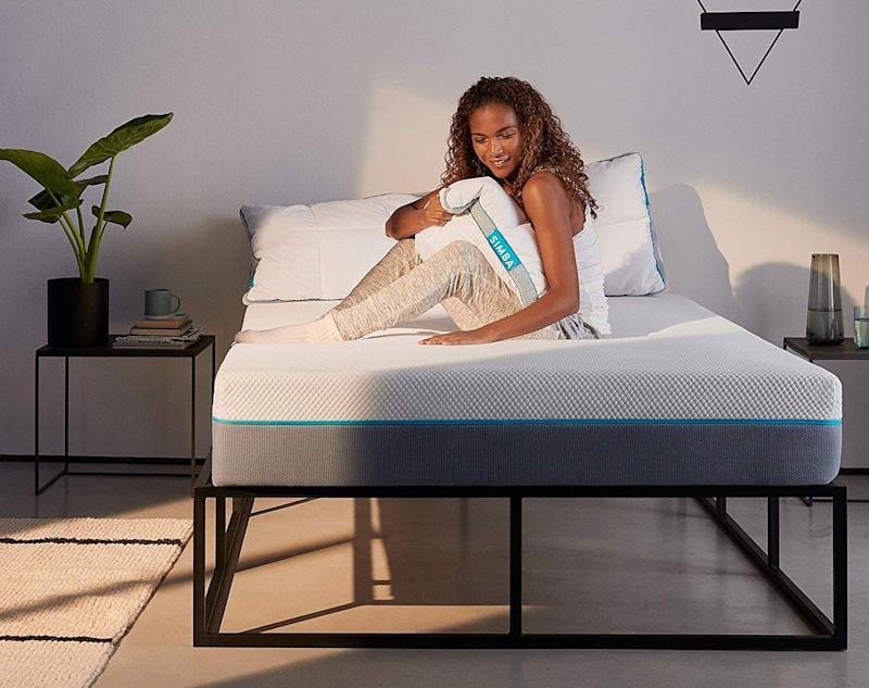 Amazon Prime members can save £250 on the Simba Hybrid Mattress today [Photo: Amazon]