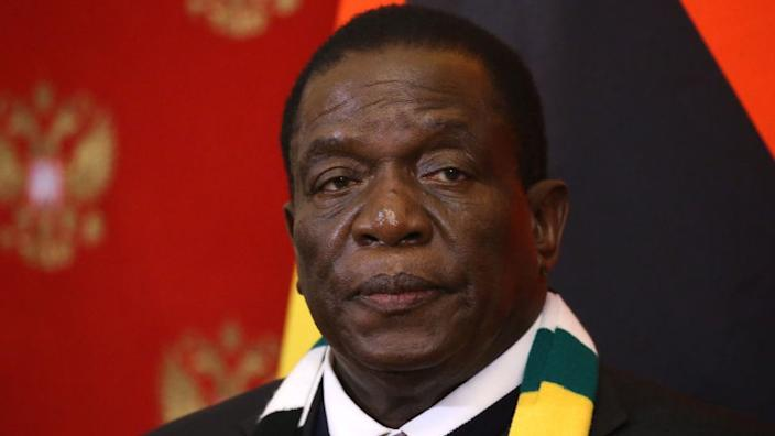 President Mnangagwa ousted long-time ruler Robert Mugabe in 2017 with the backing of the military