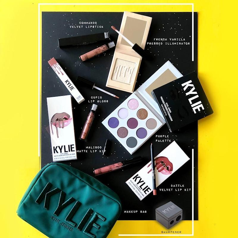 The Kylie Cosmetics March Makeup Vault Has All Your Favorite Products in It