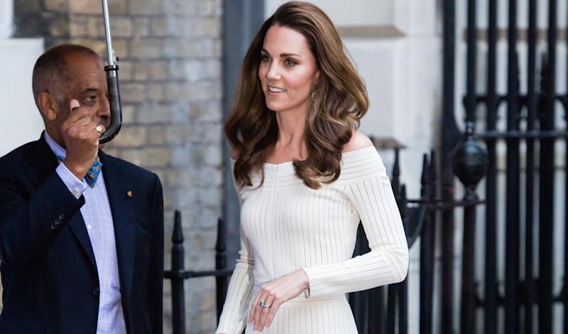 Last night, the Duchess of Cambridge demonstrated the art of sartorial recycling [Photo:
