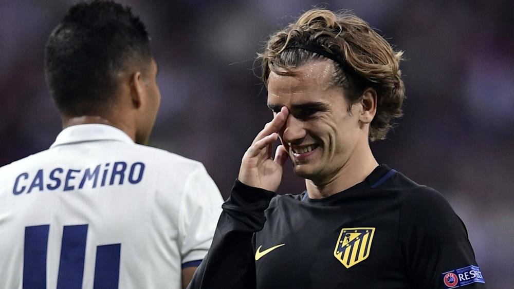 Antoine Griezmann Real Madrid Atletico Madrid Champions League