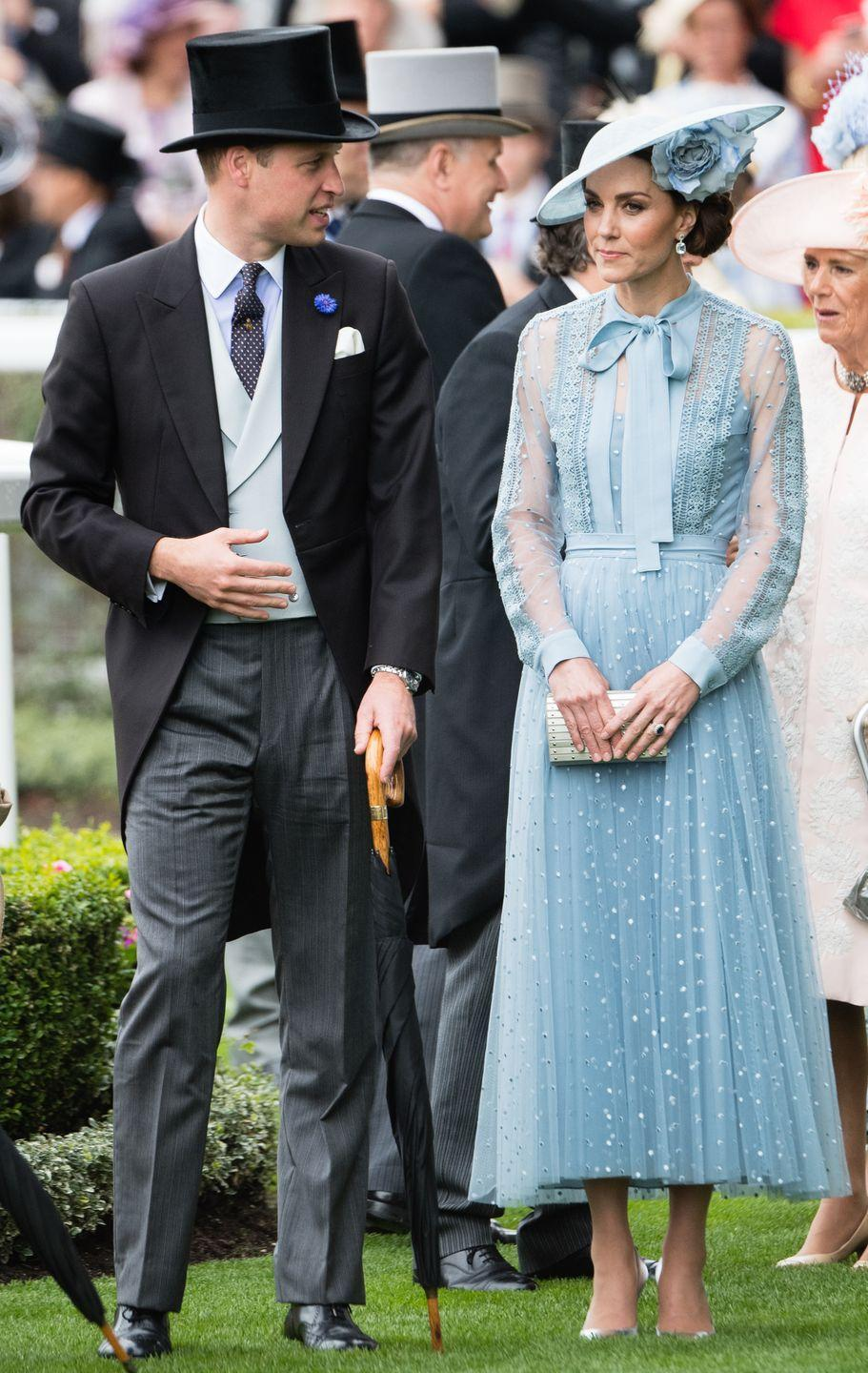 """<p>...that we're <em>not</em> going to get into, but it caused a lot of tension and headlines, including one that claimed <a href=""""https://www.cosmopolitan.com/entertainment/a26926658/kate-middleton-pissed-rural-rival-rose-hanbury-feud/"""" rel=""""nofollow noopener"""" target=""""_blank"""" data-ylk=""""slk:Kate had an ongoing rivalry with Rose Hanbury"""" class=""""link rapid-noclick-resp"""">Kate had an ongoing rivalry with Rose Hanbury</a>, a close family friend of the couple. </p>"""