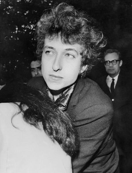 Bob Dylan, pictured in 1966 in New York (AFP Photo/)