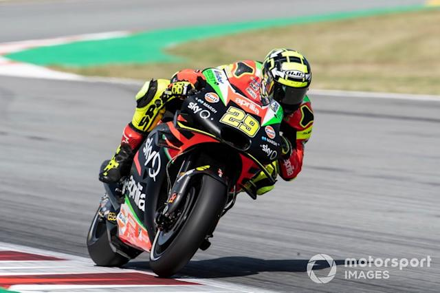 "Andrea Iannone, Aprilia Racing Team Gresini <span class=""copyright"">Gold and Goose / LAT Images</span>"