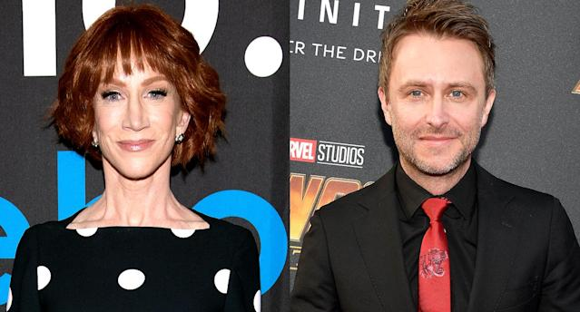 Kathy Griffin is speaking out against Chris Hardwick. (Photo: Getty Images)