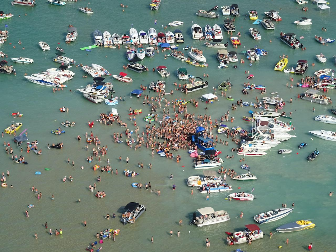 Michigan partygoers check constructive for COVID-19 after July 4th lake bash; 43 instances tied to deal with occasion