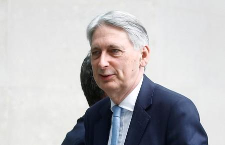 UK finance minister to quit over no-deal Brexit if Johnson becomes PM