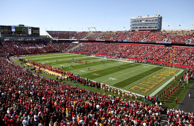 Will there be college football played at Iowa State this fall? (Photo by Matthew Holst/Getty Images)