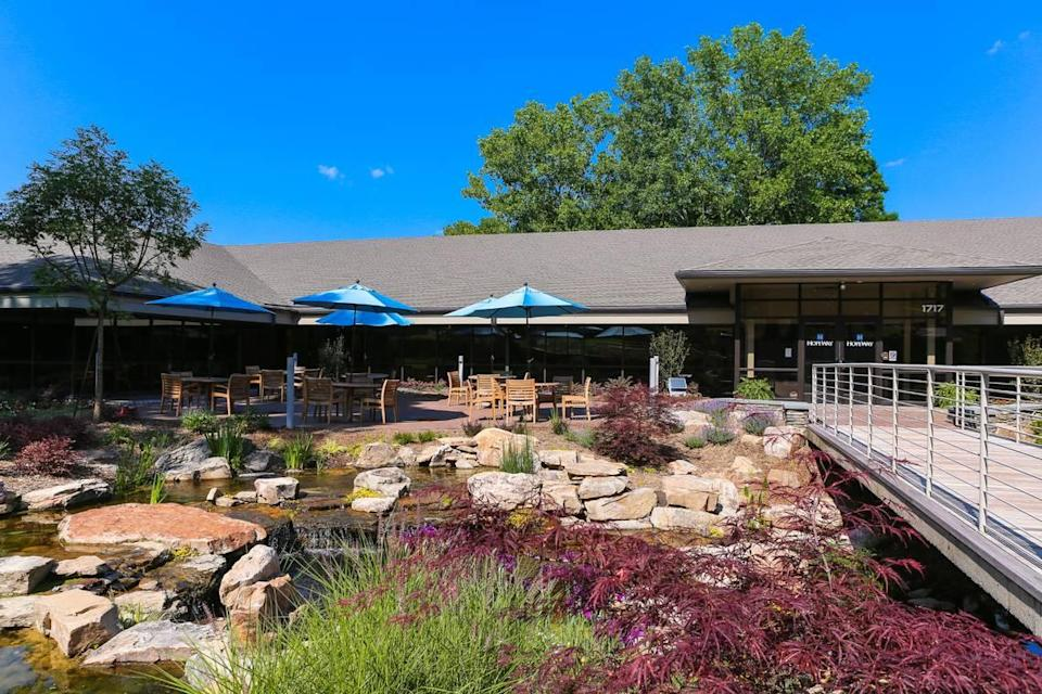 HopeWay sits on a 20-acre wooded campus at 1717 Sharon Road West in southwest Charlotte.
