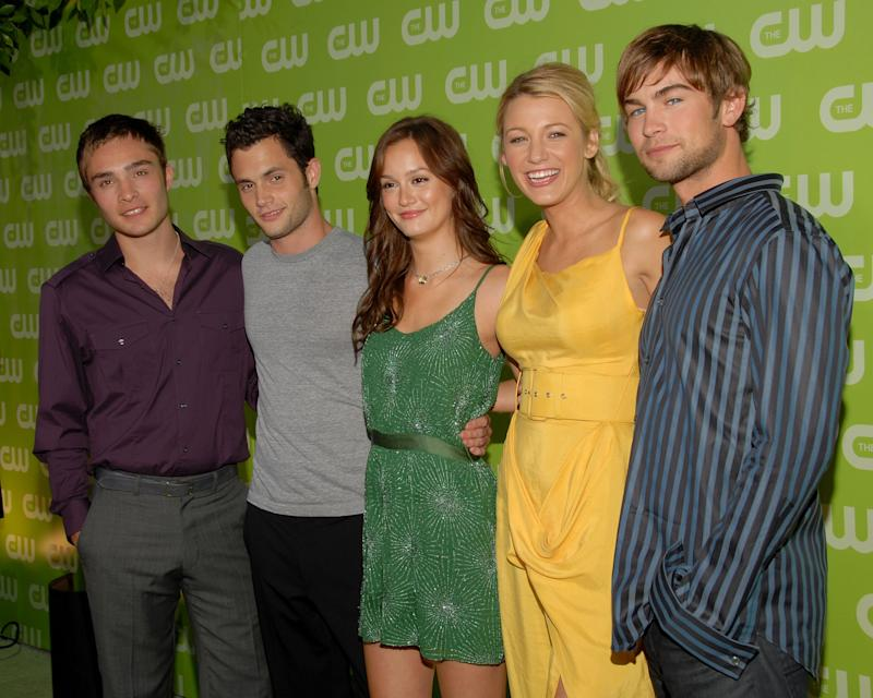 "The cast of ""Gossip Girl"" in 2007.  (Mark Sullivan via Getty Images)"