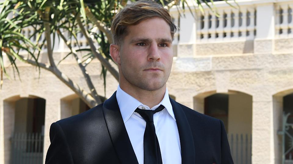 Jack de Belin reportedly underwent surgery for testicular cancer in the months prior to his sexual assault trial in Wollongong. (AAP Image/Dean Lewins)