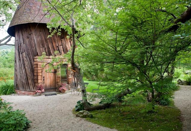 <p>The first property this week is a 'silo studio' cottage in Tyringham, Massachusetts. It's available for $125 per night. It's a perfect place to enjoy some much-needed me time.<br>(Airbnb) </p>