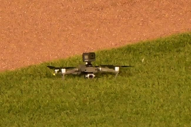 Drone Delay at Wrigley Field