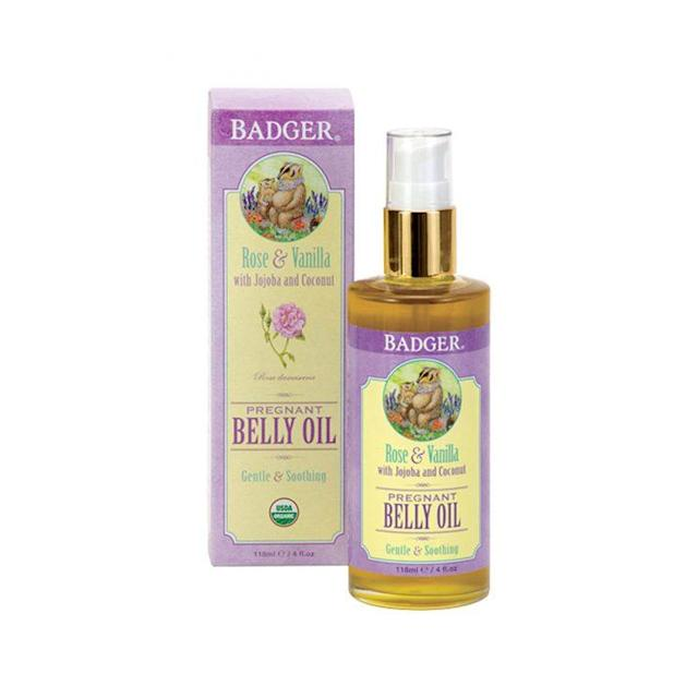 You don't have to be pregnant to reap the skin-care benefits of this belly oil. (Photo: Badger Organic)
