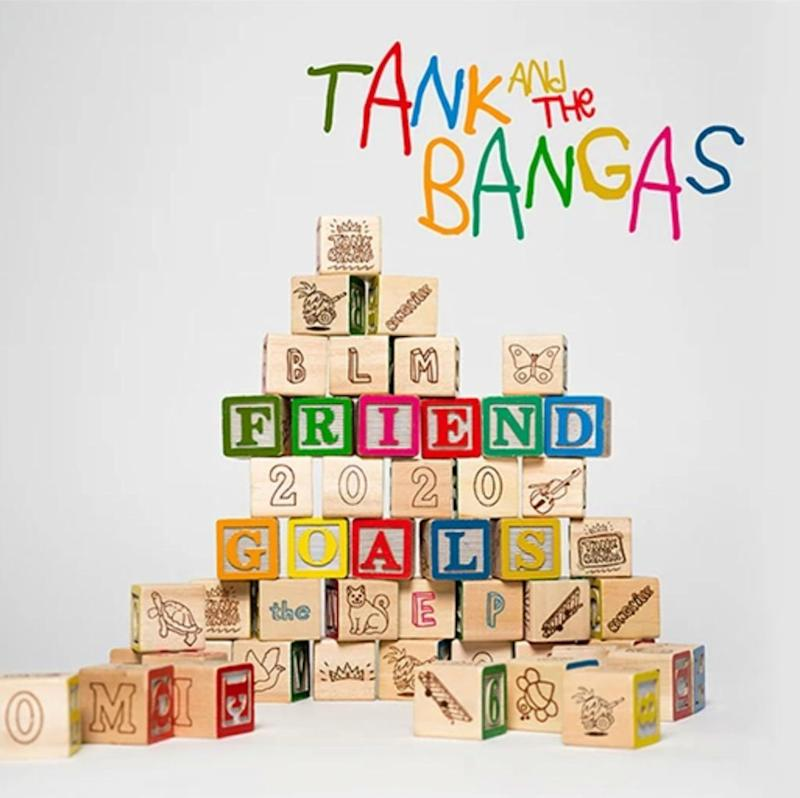 tank and the bangas friend goals ep album cover artwork