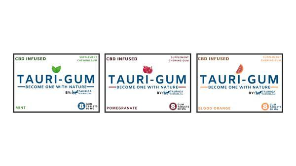 Tauri-Gum Package:Illustration of these Alternative Blister Pack Graphic Designs