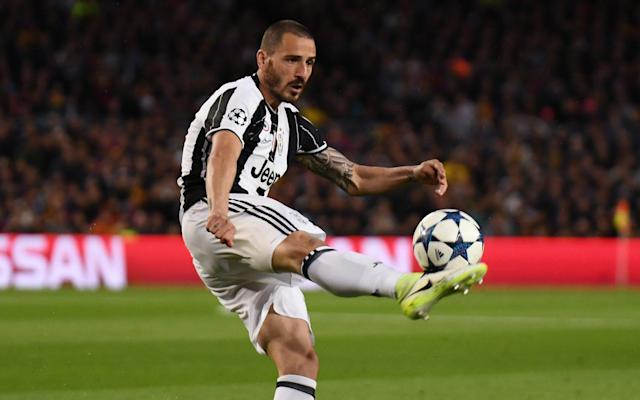 Manchester City face paying world record defender fee for Leonardo Bonucci