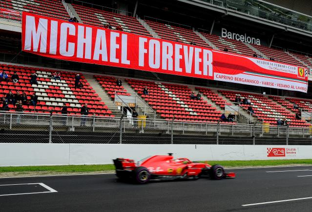 Schumacher's doctor has refuted suggestions he is experimenting on the Formula One icon. (JOSEP LAGO/AFP/Getty Images)