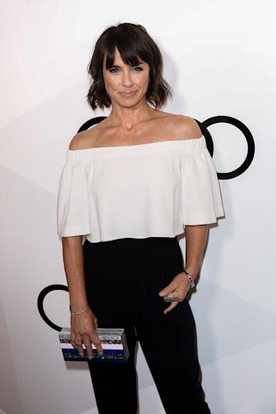 """Outstanding Supporting Actress in a Drama Series Emmy Nominee Constance Zimmer arrives at the"""" Audi Celebrates The 68th EMMYS"""" Pre-Party on Thursday, Sept. 15, 2016, in West Hollywood, Calif.. (Photo by Willy Sanjuan/Invision/AP)"""
