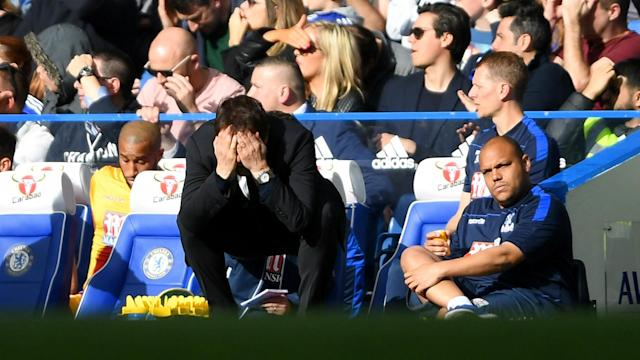 Chelsea boss Antonio Conte is wary of another slip-up against Manchester City after seeing his side beaten by Crystal Palace.