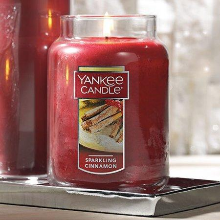 Yankee Candle Sparkling Cinnamon - Large Classic Jar Candle. (Photo: Walmart)