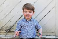 <p>The Duchess of Cambridge shared four photos of her youngest child in honor of his second birthday.</p>