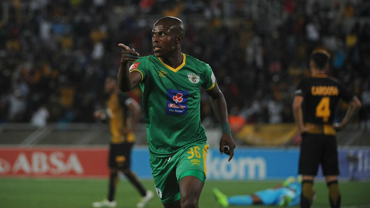 The Newcastle-born player danced his way into the Amakhosi box to score the equalizer on which earned Baroka a point on last weekend