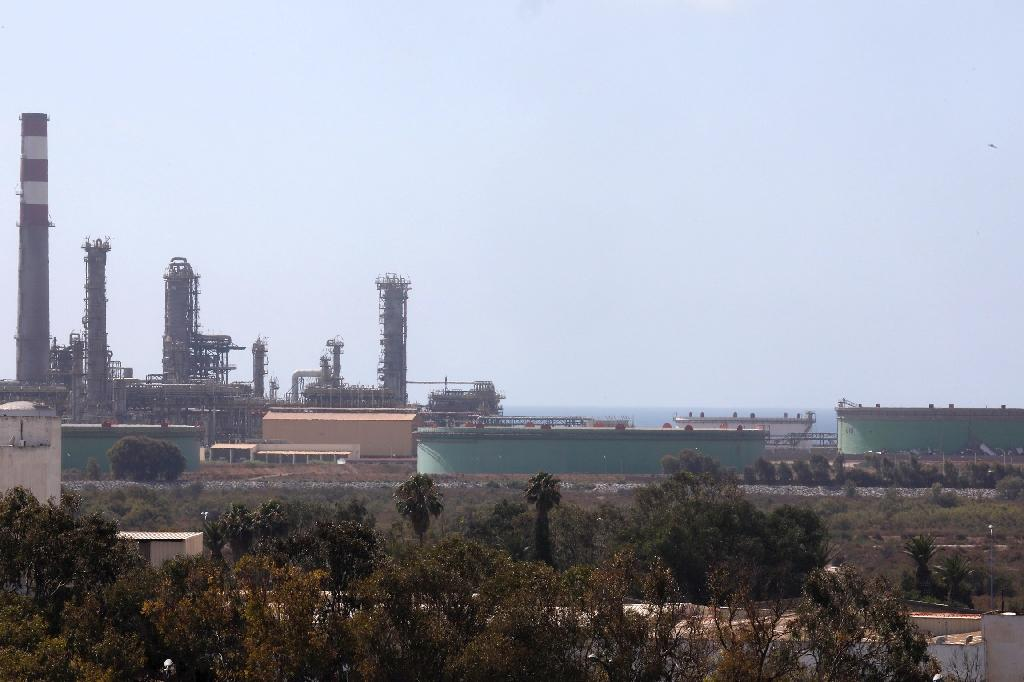 Morocco's sole oil refinery in Mohammedia, near Casablanca, has been struggling to attract a buyer and survive three years after it was liquidated for failing to honour huge debts (AFP Photo/-)
