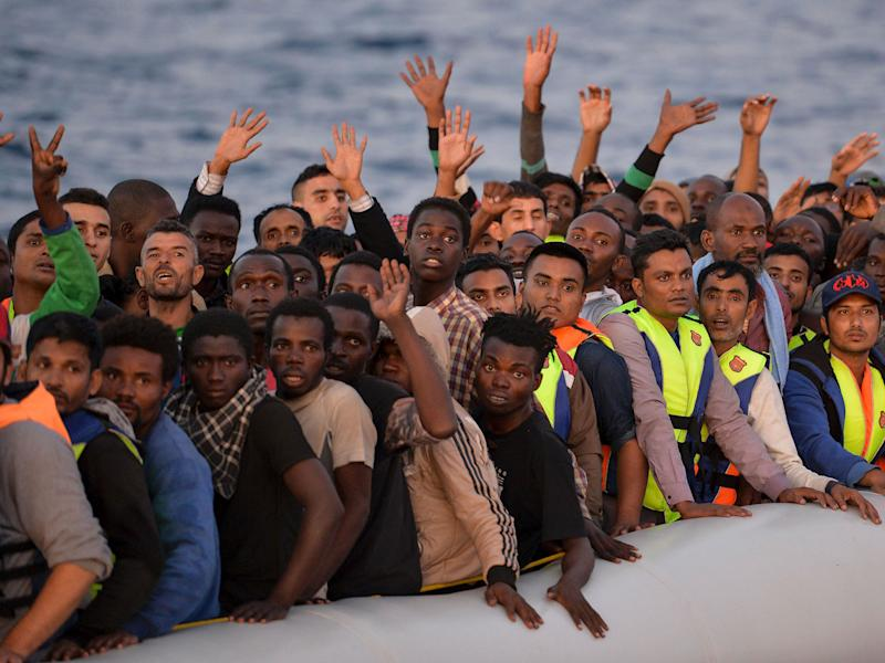 Thousands of migrants have attempted to cross the Mediterranean to Europe: AFP/Getty