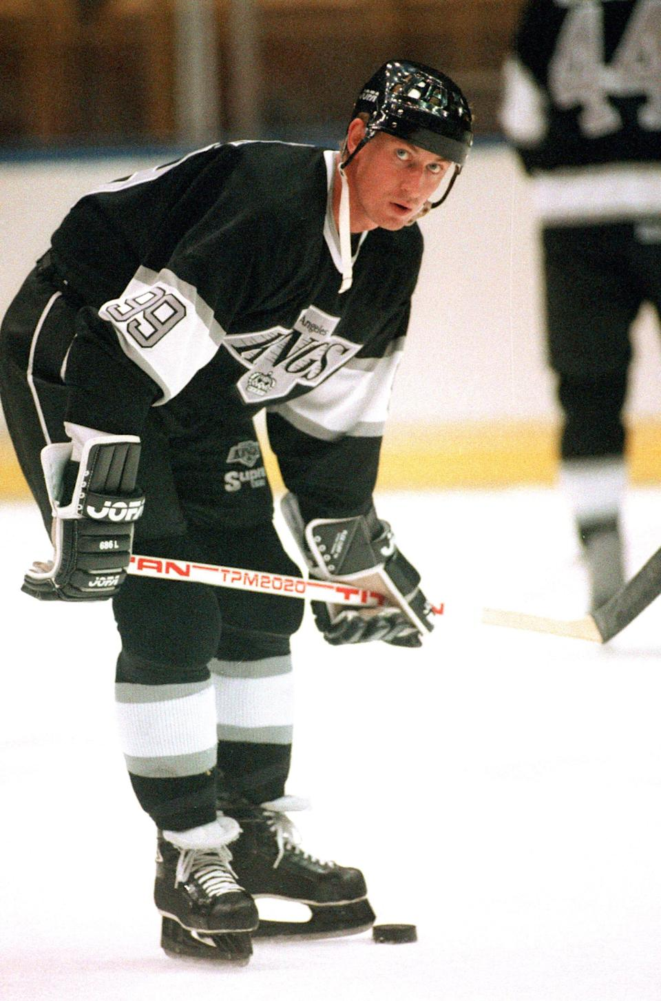 Hockey Hall of Famer Wayne Gretzky was traded from the Edmonton Oilers to the Los Angeles Kings on Aug. 9, 1988, in a deal that sent shock waves throughout Canada.