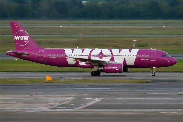 Airline Stocks Sink as WOW Air Expands into the Midwest