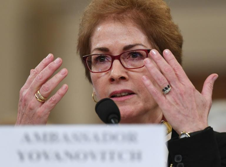 Marie Yovanovitch, the former US ambassador to Ukraine, testified for more than five hours before the House committee holding impeachment hearings into President Donald Trump